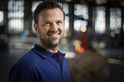Werkvoorbereider Marco Siemens ook inzetbaar in technisch onderwijs