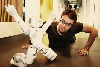 """""""Vanuit het niets heb ik twee robots gemaakt"""""""