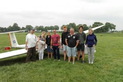 Prijswinnaars Flight Challenge maken incasseren de prijs!