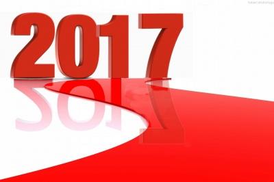 De allerbeste wensen voor 2017!