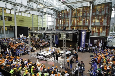 Beneluxfinale FIRST LEGO League 2017 groot succes voor Deltion College