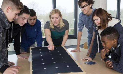 Hang de 7 werelden van techniek in de klas